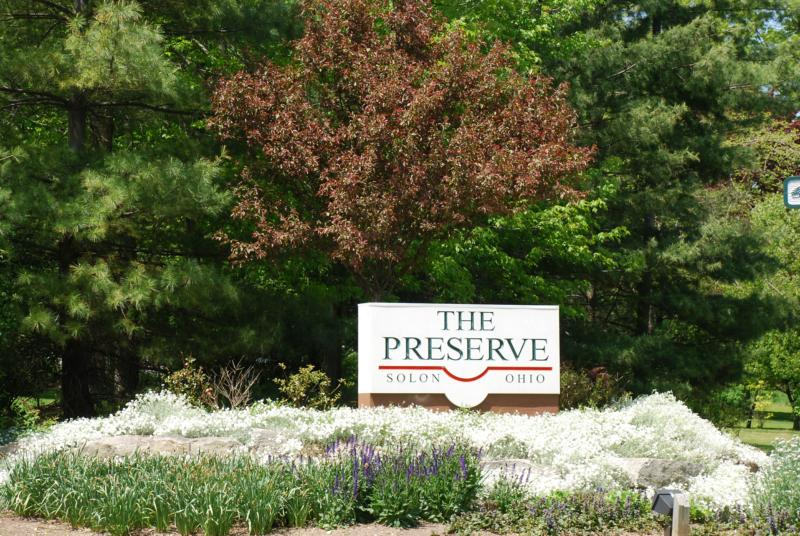 Welcome to The Preserve in Solon Ohio