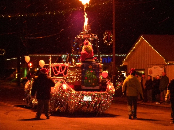 Cedaredge, CO Parade of Lights...Deck The Halls and The Streets, Too