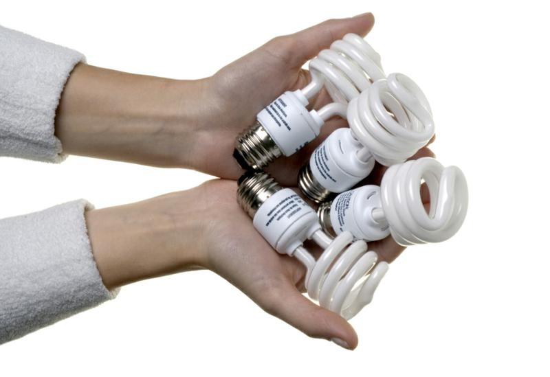 CFL lightbulbs