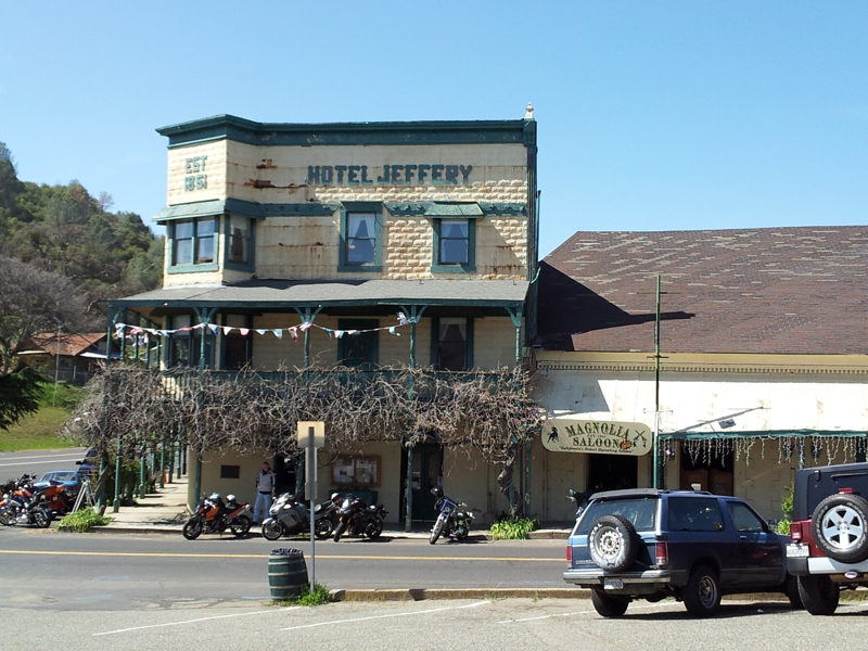 Coulterville Ca Magnolia Saloon Amp Grill Restaurant At
