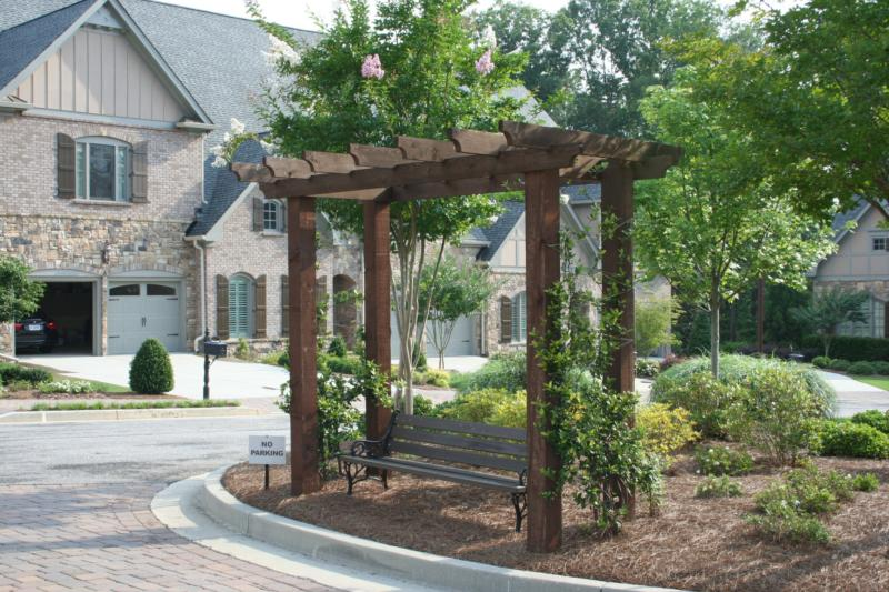 Wisteria Parkside Community Landscaping photo provided by Mark Mitchell Virtual Properties
