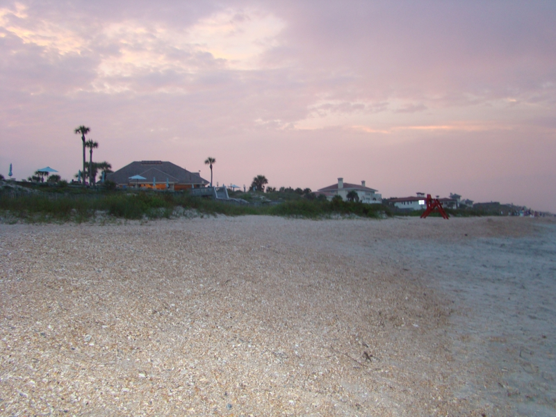 Mickler's Beach in St Johns County Florida