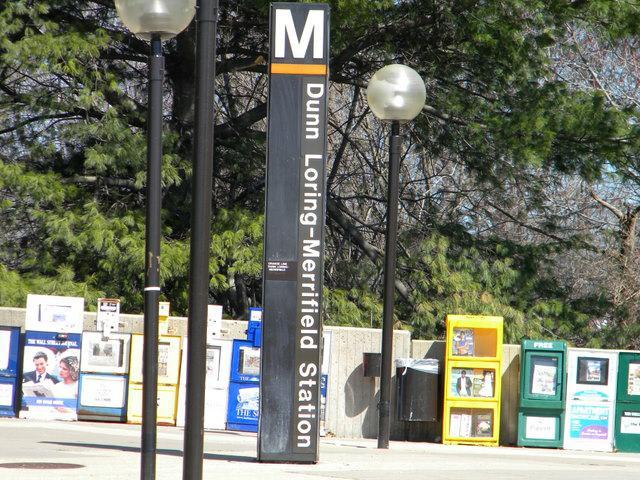 Walk to the Dunn Loring Metro