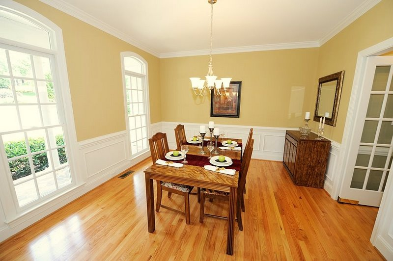 Dining Room After Staging