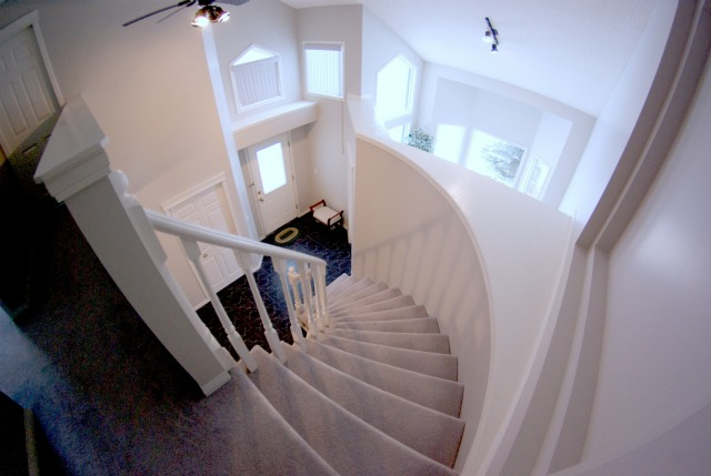 45 Tuscany HIlls Crescent NW Staircase
