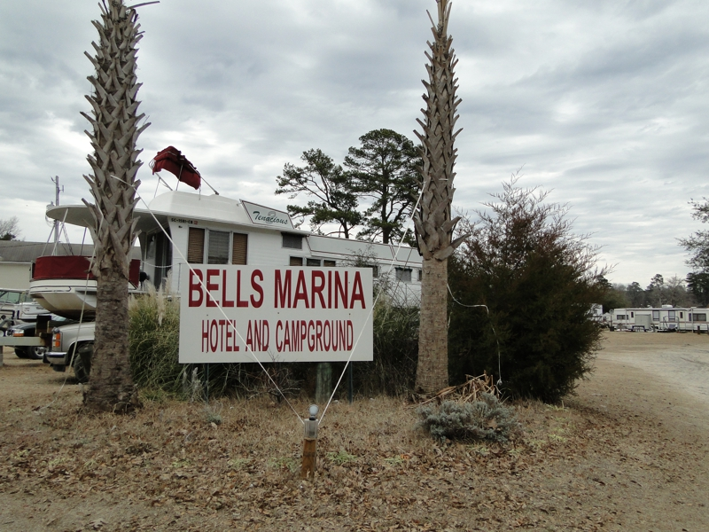 Bells Marina and campground for sale on Lake Marion, SC