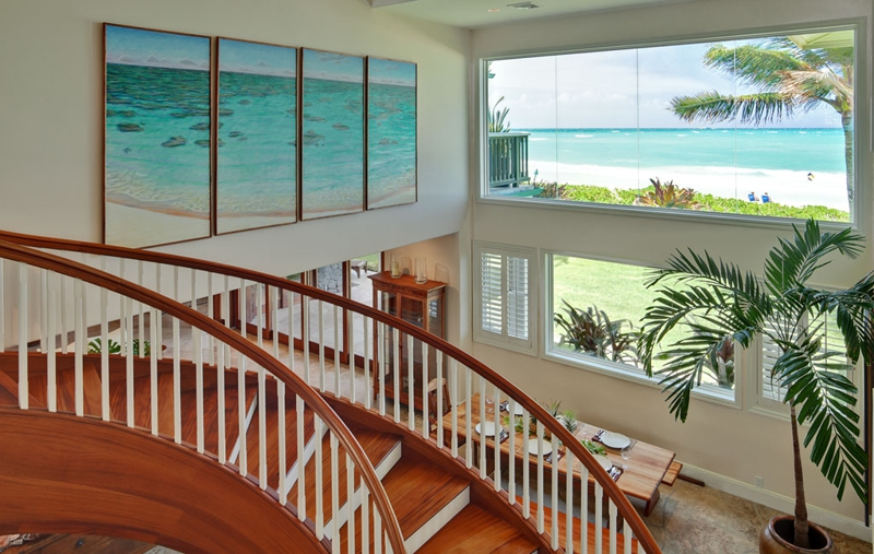 Remarkable Beachfront Kailua Home Luxury Homes On Oahu Owner Is Download Free Architecture Designs Scobabritishbridgeorg
