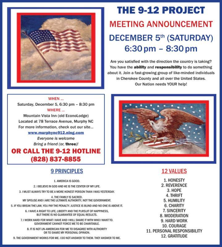 Murphy NC 9 12 Project Meeting