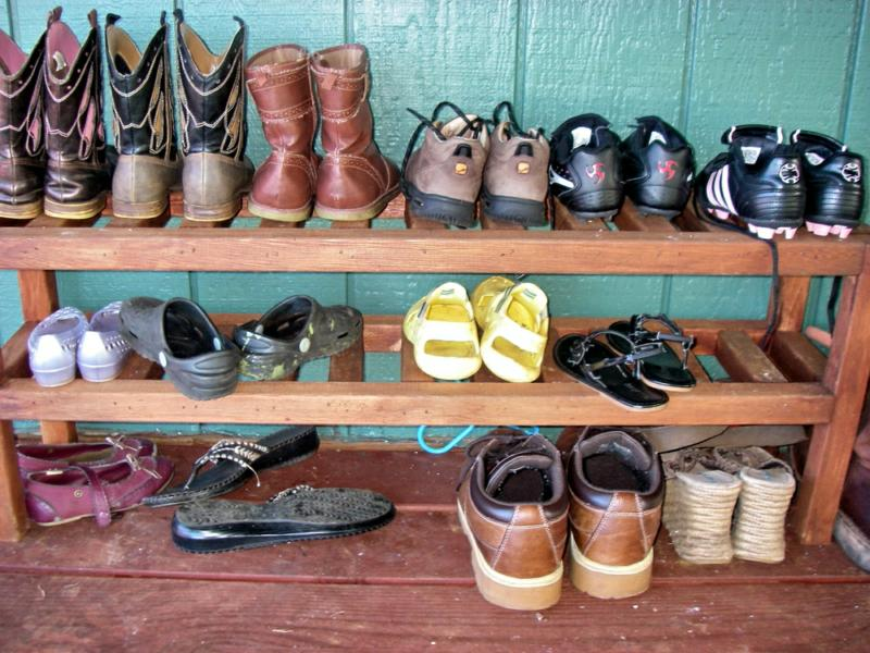 Superbe Shoes Outside The Door Of A Maui Home For Sale