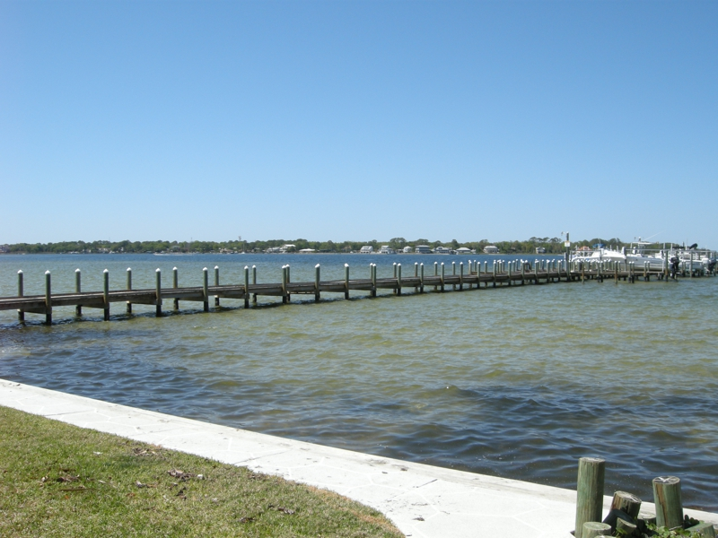 Hermitage okaloosa island fl short sale condo waterfront for Fort walton beach fishing