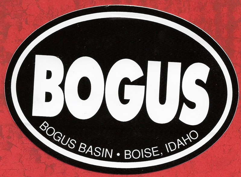 Bogus Basin Sticker