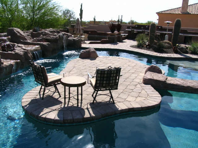 Interesting pool designs in arizona for Pool design az