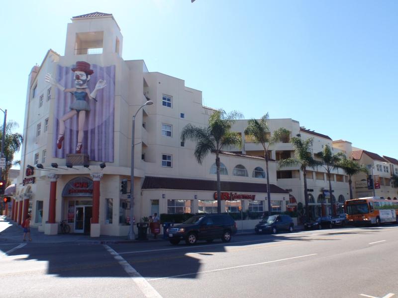 The Clown Building Venice CA