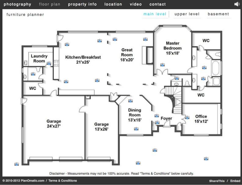 Get A Floor Plan, Photos, Youtube, Syndication, Website