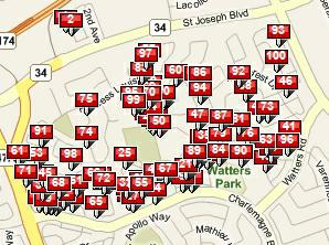 homes sold in Fallingbrook & Ridgemount
