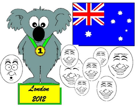 Aussie participation in London Olympics