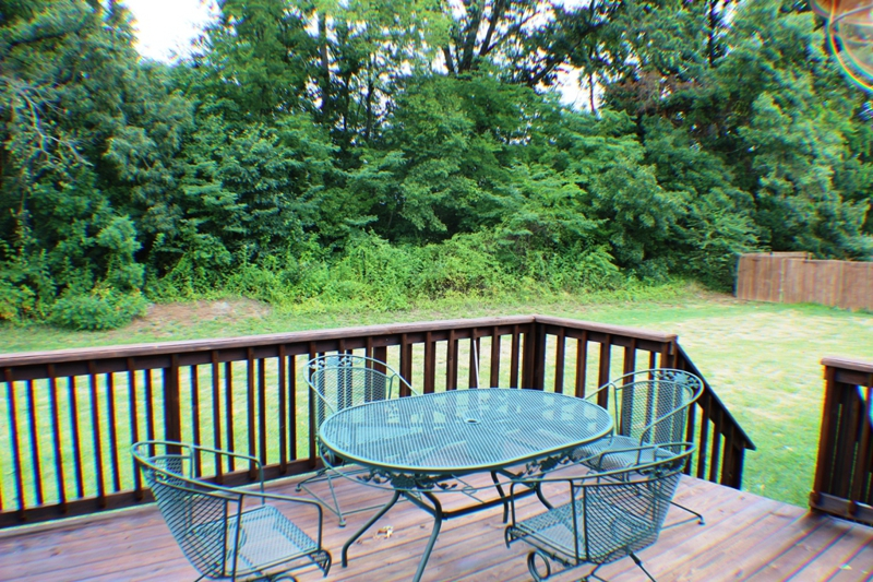 Backyard at 3468 Heatherwood Trace