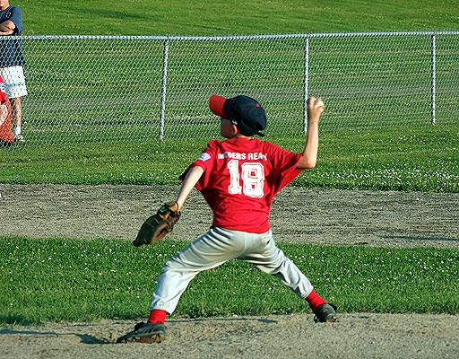 mooers realty little league pitcher