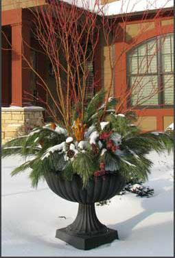 Staging for Winter: Use Natural Elements