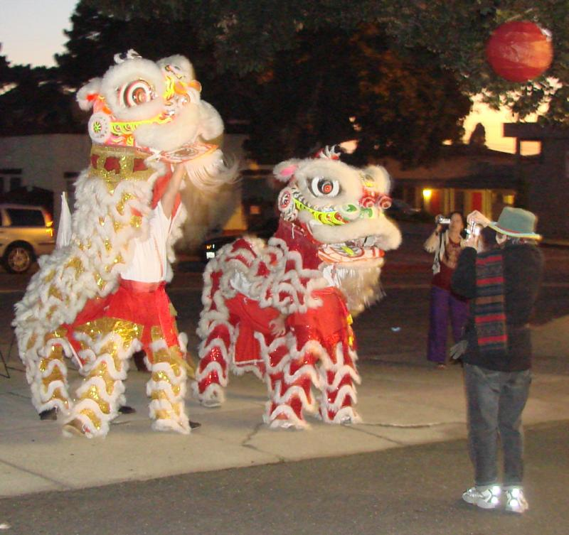 Cal Poly Lion Dance at RE/MAX 7 Cities