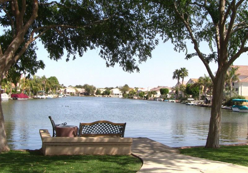val vista lakes waterfront homes in gilbert az