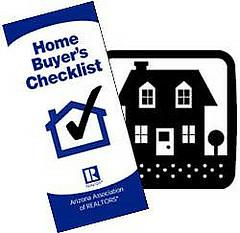 First Time Home Buyers' Checklist