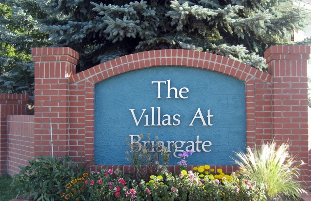 Villas at Briargate entrance sign