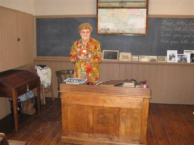 One room school house at Algonquin Mill Farm
