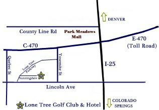 Lone Tree Homes and real estate - Lone Tree Golf Club and Hotel