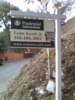 vacant land in Bel Air,CA endre barath,Jr.