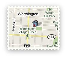 Worthington Ohio 43085 mailing address