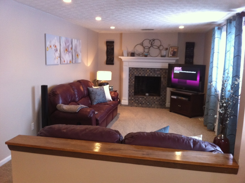 Homes for sale in Reynoldsburg Ohio, View of the Family Room