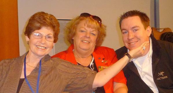 Margaret Rome, Martha Brown, Ben Kinney