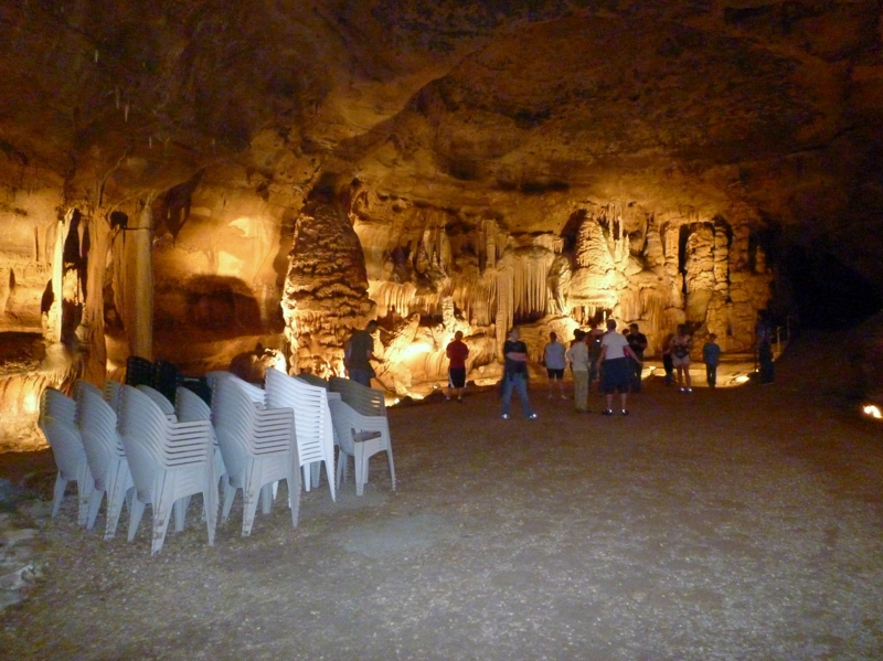 "The ""Throne Room"" at Cave Without a Name"