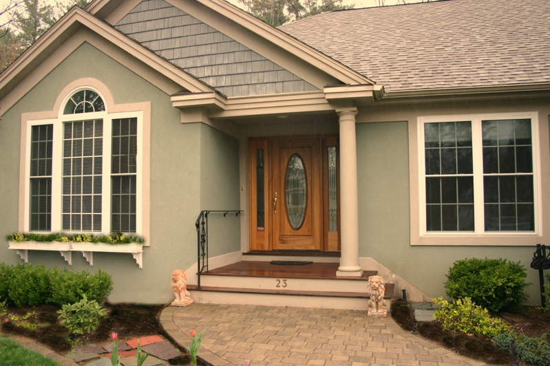 A Dated Front Door Is Like Gray Hair On Your House - Color It!
