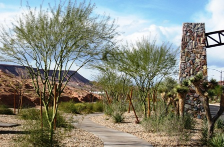 Sun City Mesquite Parks and Walking Trails