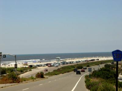 A view of the south end of Carlsbad along the coast highway