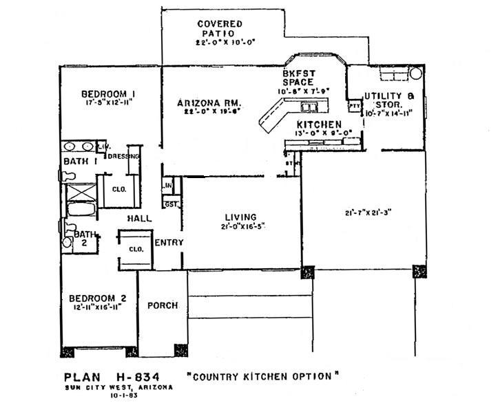 Floor plan country kitchen plans best free home for Country kitchen floor plans