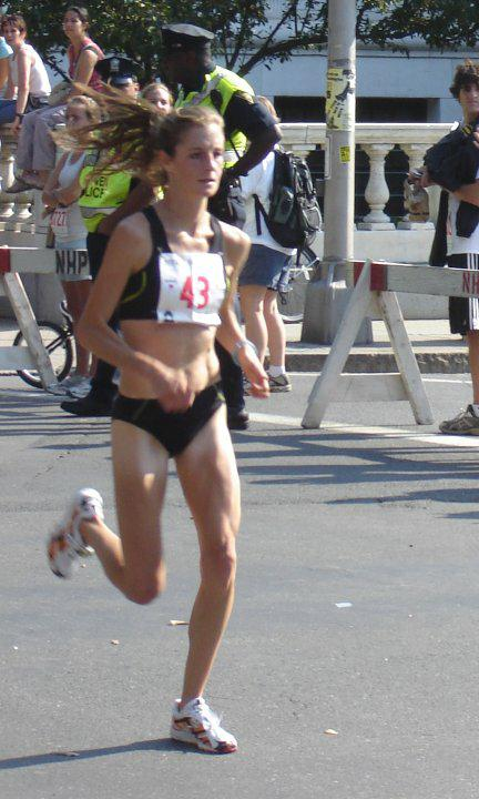 Alicia Shay - 1st Place Woman in New Haven 20k - 2007