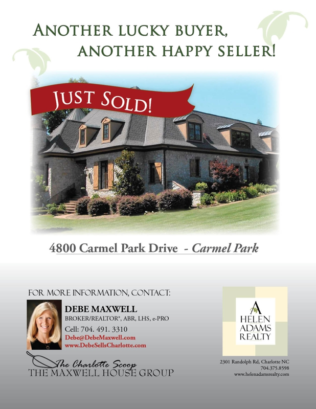 Homes for sale in Carmel Park Charlotte NC