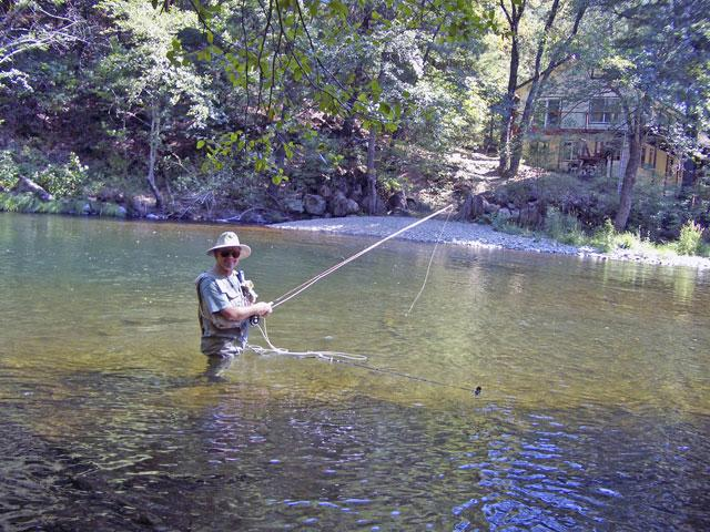 David Fly Fishing Shasta 2
