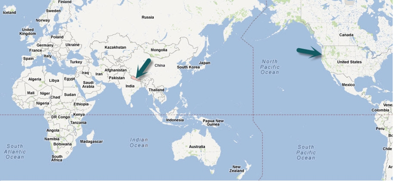 Kathmandu On World Map.We Re Meeting People From All Over The World Without Our Passports