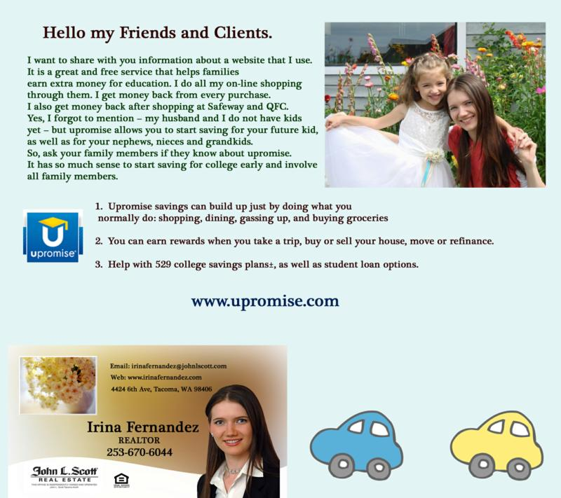 upromise, savings, children, college