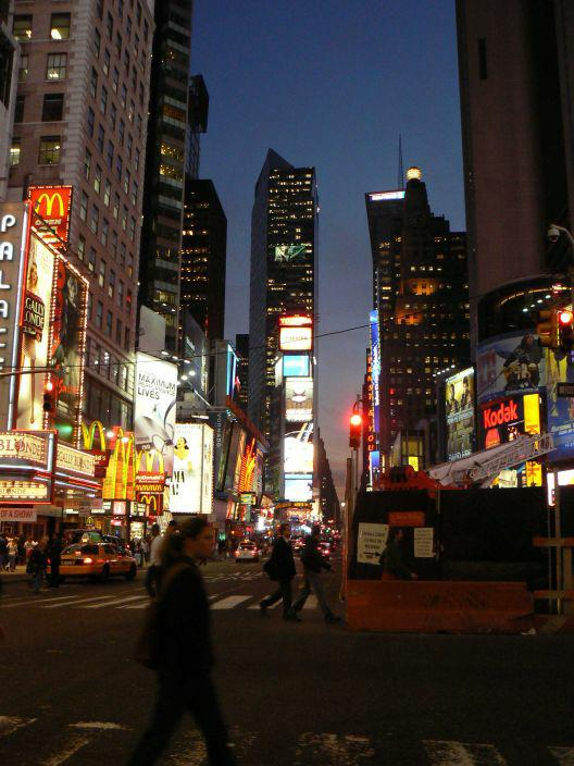 Times Square New York City Feng Shui