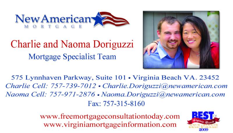 business card new american