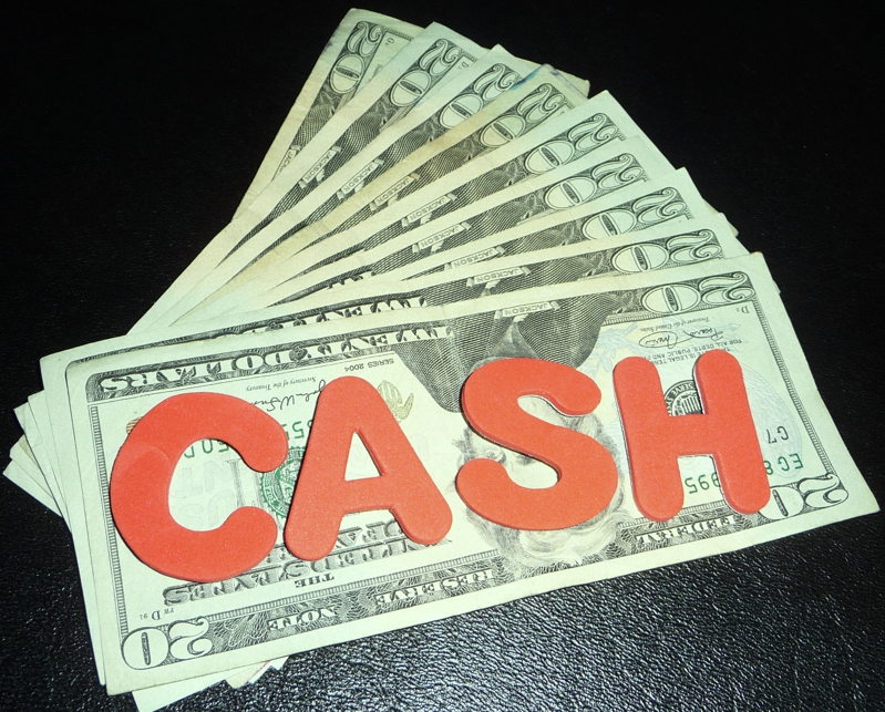 Cash..HomeRome 410-530-2400