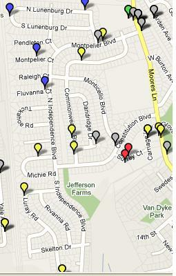 New Castle Delaware Crime Map Stats