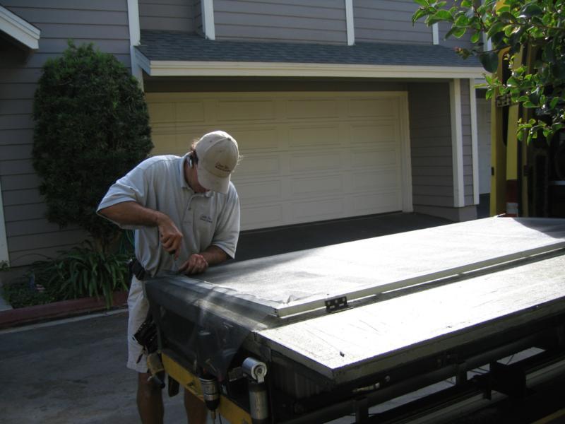 Need To Repair Torn Screens Pet Doors Call Costa Mesa S Clear View Mobile Screening