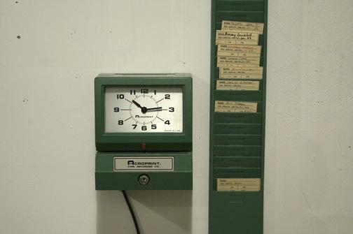 time clock