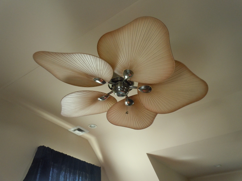 Where To Put Ceiling Fan In Living Room